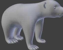 Baby Bear 3D Model