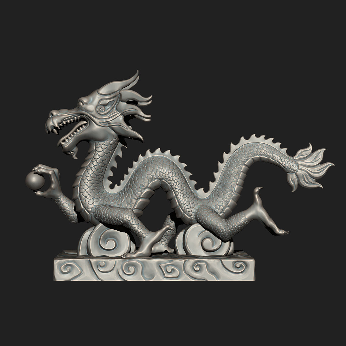 chinese dragon 3d model - photo #16
