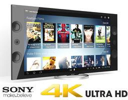 Sony XBR Series 4K Ultra HD-TV 3D Model