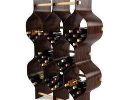 bottle rack 3D