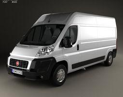 Fiat Ducato Panel Van LWB 2012 3D model