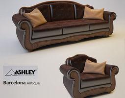 Ashley Barcelona Antique  3D Model