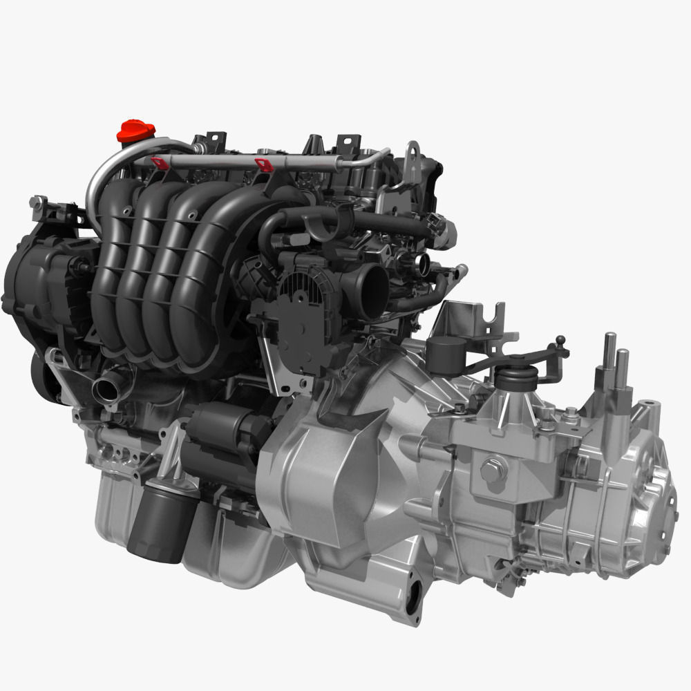 Engine with Transmission