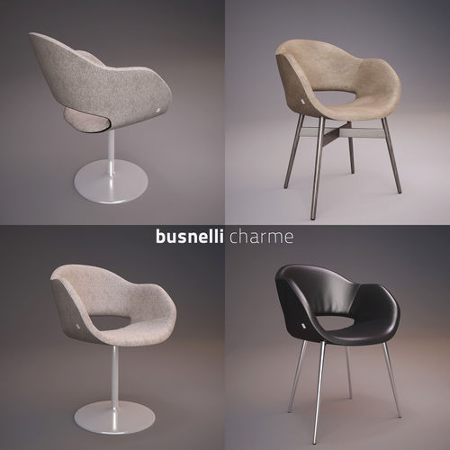 Busnelli Charme Chair3D model