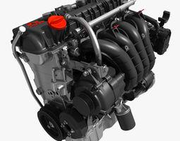 3D Mitsubishi Engine