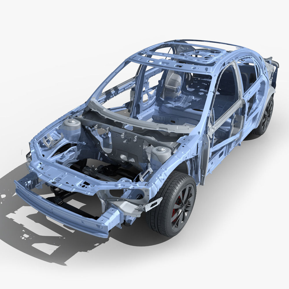3D model Car Frame 03 | CGTrader