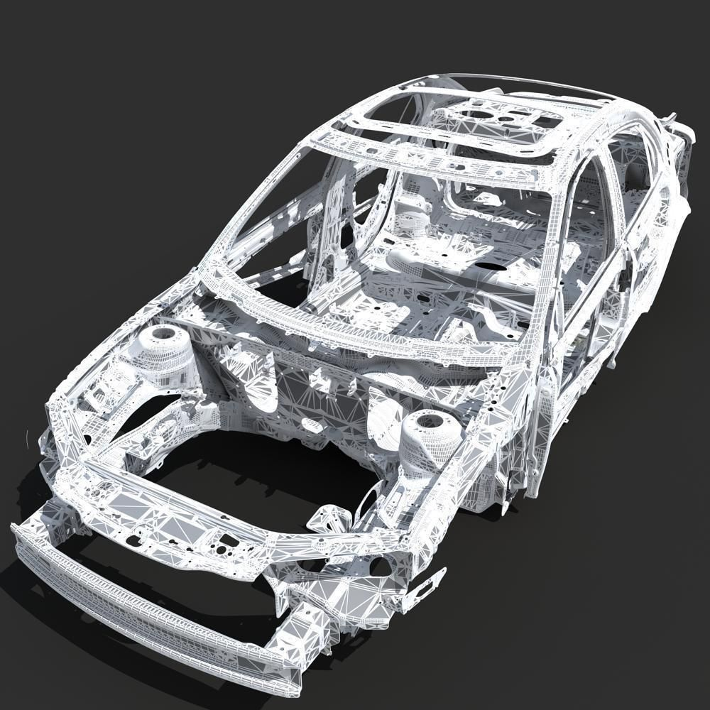 Design of car frame -  Car Frame 04 3d Model Max 23