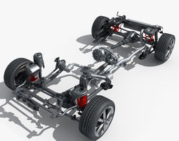 Suspension 3D Model