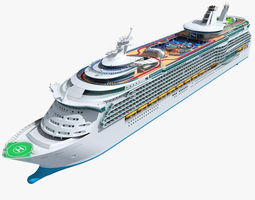 Mariner of the Seas Cruise 3D