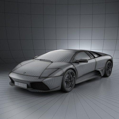 3d Lamborghini Murcielago Lp640 2006 Cgtrader