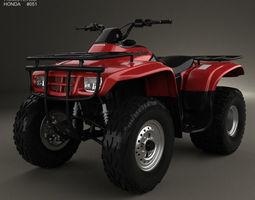 Honda FourTrax Recon 2001 3D Model