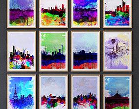 City Print collection set-05 3D model