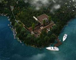 house Villa 3d model 3D model