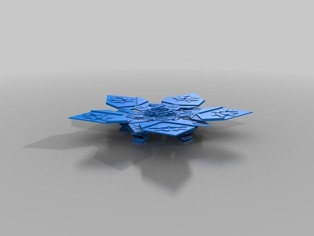 Penrose flower base 3d printable model cgtrader penrose flower base 3d model 11 mightylinksfo