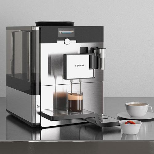 coffee maker 33 am145 3d model obj mtl 1