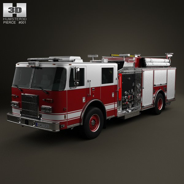 Pierce Fire Truck Pumper 2011