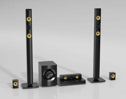 stereo 72 am144 3D model