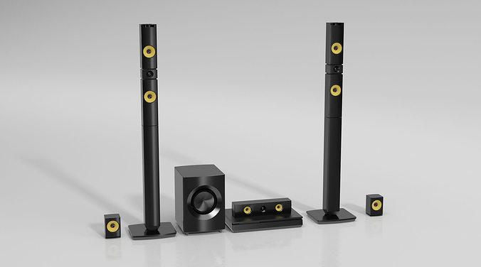 stereo 72 am144 3d model obj 1