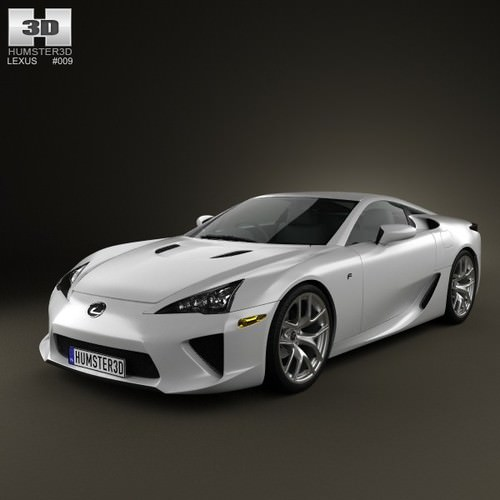 Lexus LFA 20133D model