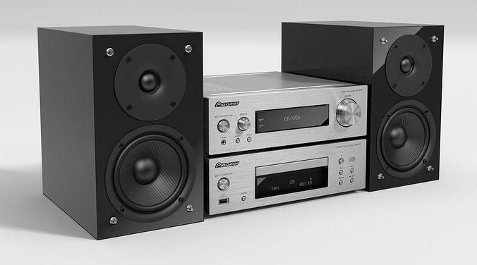 stereo 65 am144 3d model obj 1