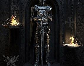 3D model AVE Medieval set