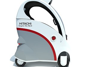 Hitachi Ropits Robot Car 3D model