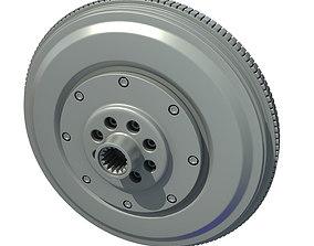 3D Engine Flywheel 019