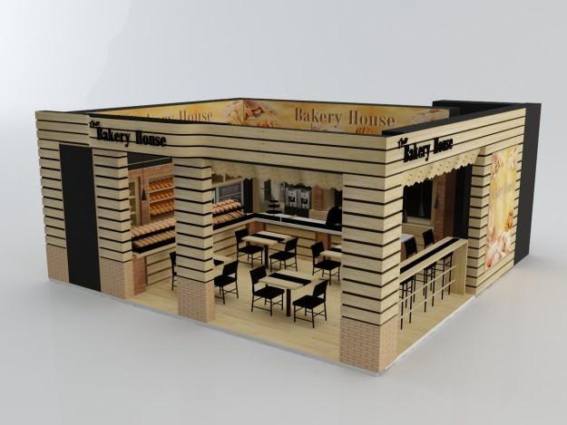 Bakery 3D Model max 3ds CGTradercom
