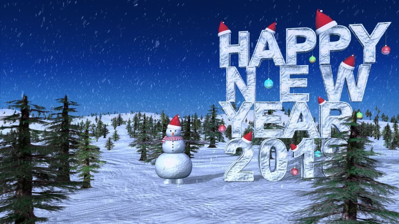 snow man happy new year 3d model ma mb 4