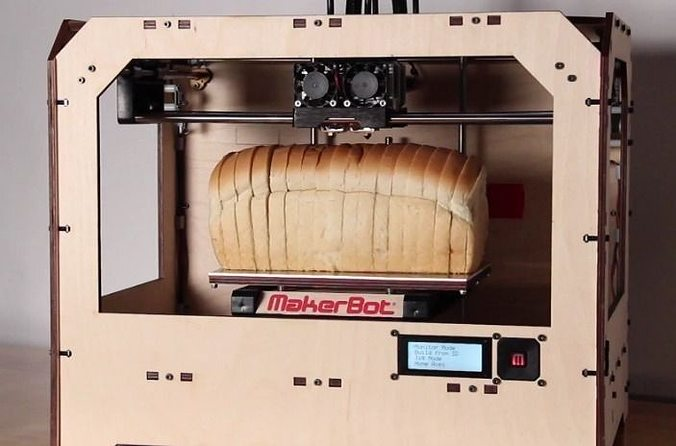 Loaf of bread for dual extrusion