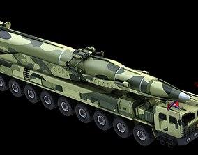 Hwasong Rocket 3D
