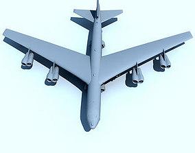 3D model Not Textured B-52