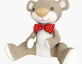 3D model Plush Bear Teddy