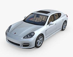 Porsche Panamera expensive 3D model