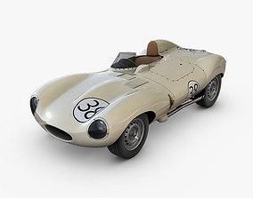 3D model Jaguar D-Type
