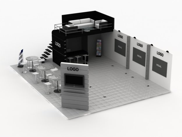 Exhibition Stand 3d Model Free : All dmodels sharing d models flawlessy through
