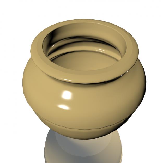 Ceramic vase pot 3D model   CGTrader