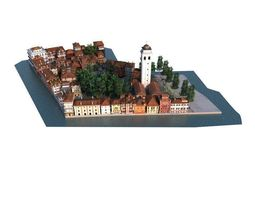 city 01 set 06 am 133 3D Model