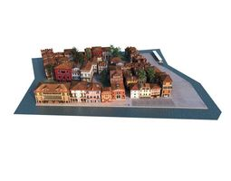city 01 set 04 am 133 3D Model