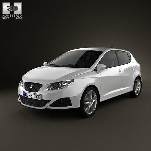 3D Model Seat Ibiza Hatchback 5-door 2011
