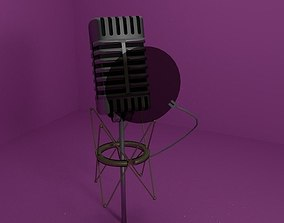 Microphone mix textures 3D