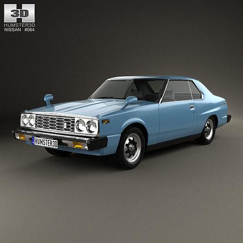 Nissan Skyline C210 Gt Coupe 1977 3d