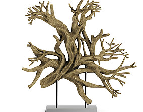 Tree Root Decoration 3D model