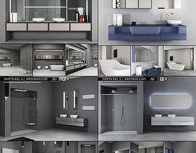 Bathroom furniture collection 2 Antonio 3D model