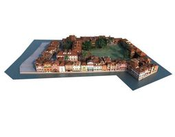 city 01 set 05 am 133 3D Model