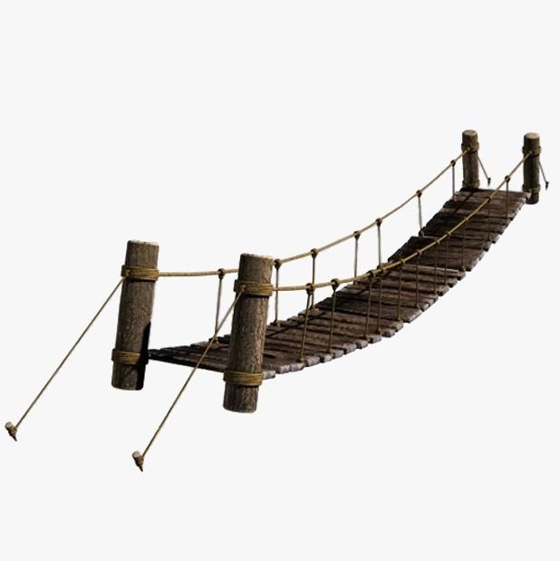 Rope Bridge | 3D model