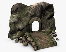 ancient entrance 3d model
