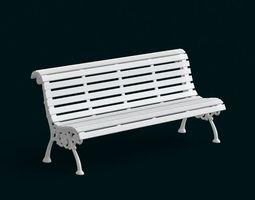 1 10 Scale Model - Bench 02 3D Model