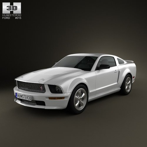 Ford Mustang Shelby GT-H 20063D model