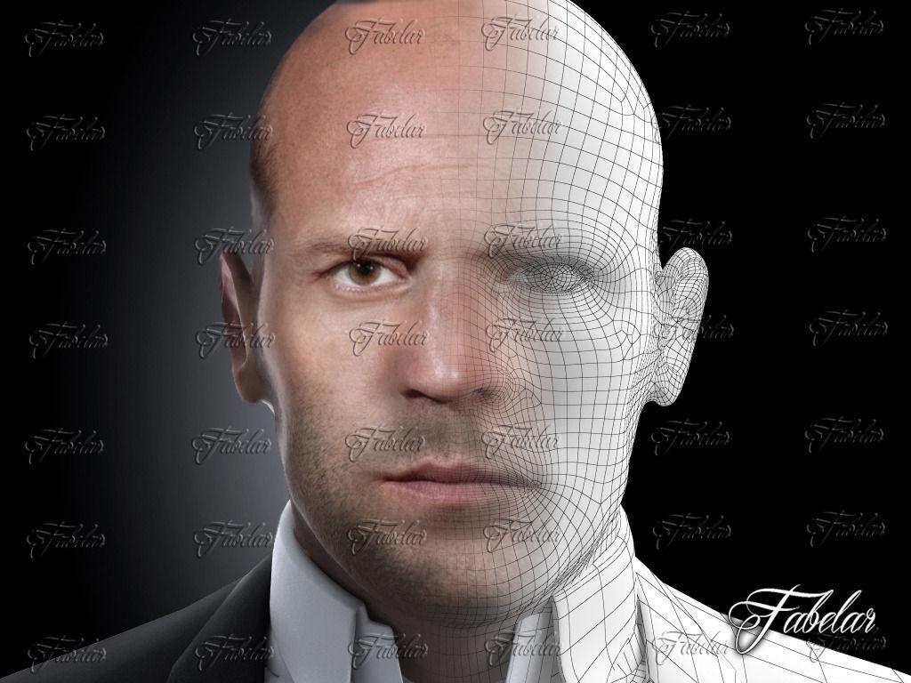 Import Car Parts >> Jason Statham Printable 3D Model 3D printable STL ...